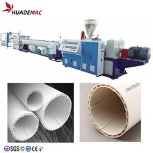 Tuyau sprial silencieux en PVC en plastique faisant la machine