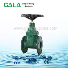 BS NRS manual cast resilient seal gate valve ,high temperature gate valve