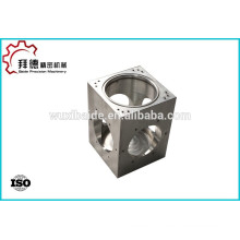 Stainless steel bleed valve machining/cnc machined bleed valve according to drawing