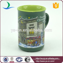 YScc0022-01 ceramic father christmas Eco Cup