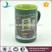 YScc0022-01 cerâmica pai Natal Eco Cup