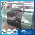 Puertas de vidrio templado interiores deslizantes de aluminio transparente de 8 mm 10 mm 12 mm