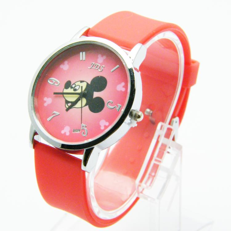 silicone kid slap japan movement watches