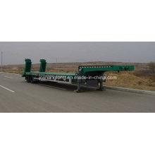 Zwei Achsen Low-Plate Container Auflieger