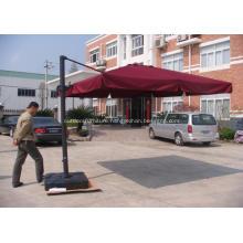 Outdoor Aluminium Square Hanging Roman Umbrella