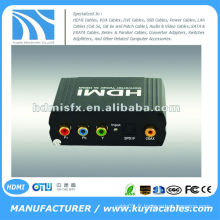 YPbPr SPDIF TO HDMI Converter (Un YUV + YPbPr + YCbCr et SPDIF (Optical Coax) signal d'entrée converti en un HDMI)