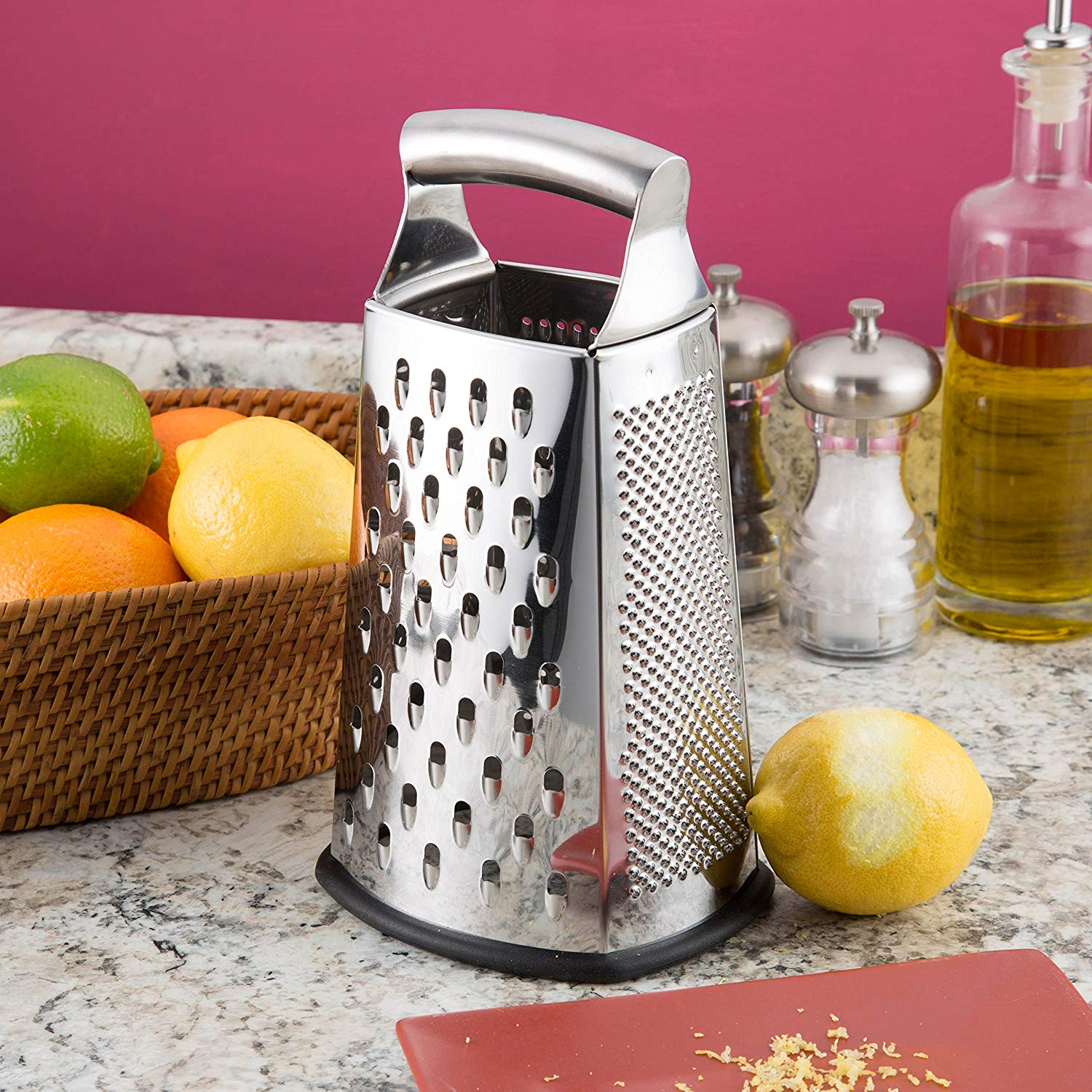 box grater with storage