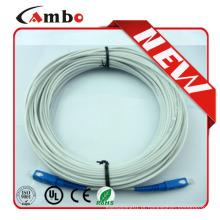 2.0mm FTTH Conector FC / ST Cabo de conexão de fibra externa ao núcleo 2/4