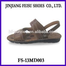 Los hombres al por mayor baratos de las sandalias de las sandalias de los hombres baratos del verano de la manera