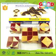 25pcs Boa qualidade Beechwood Infinity Enlighten Blocks