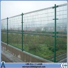 Double Loop Dekorative Wire Mesh Zaun Für Gärten