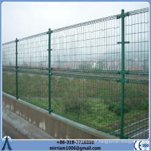 mesh opening 50x150mm 2.1m height 2.2m width Double Loop Decorative Fence(fence for Malaysia)