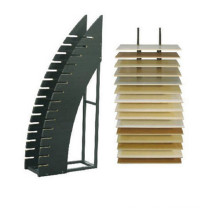 Simple Metal Display Rack/Metal Display for Tile Advertising