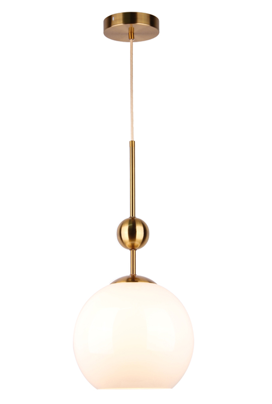 White Ball Shade Pendant Lamp