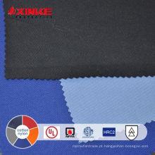 Tecido misturado de nylon retardante de chama de algodão para vestuário de segurança
