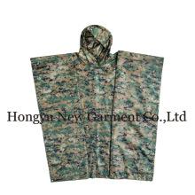 GI Typ Military Rectangle Polyester Grün Poncho (HY-RC002)