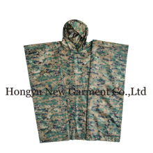 GI Type Rectangle militaire Polyester Green Poncho (HY-RC002)