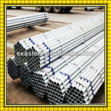 Steel tubing for panels fences