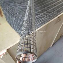 Сварная перфорированная металлическая спиральная трубка из нержавеющей стали