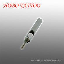 Barato corto acero inoxidable tatuaje agujas consejos cuidado de la piel suministros