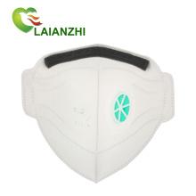 Одноразовая маска для лица с ушной петлей кн95 с клапаном