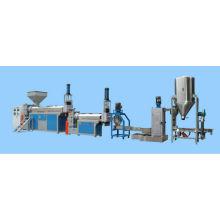 Machine en plastique d'extrusion et de bouletage recyclage se défasse HDPE, PP, PS, ABS