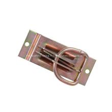 Ancrage d'arrimage à anneau en D, voie E
