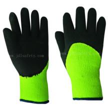 Пены латекса работы перчатка, которая от холода (LY2038F)