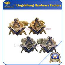 Custom Packing Box Cufflinks Masonic Cufflinks