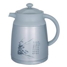 Двойные стенки вакуум кофе горшок Стиль Европы СВП-1000Ч серый