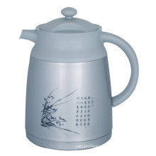 Double Wall Vacuum Coffee Pot Europe Style Svp-1000CH Grey
