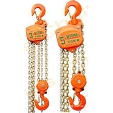Lifting Chain Hoist Used on Construction