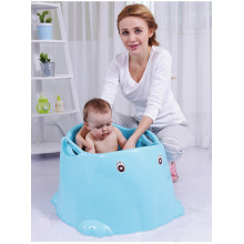 Elephant Shape Infant Deep Bañera con asiento