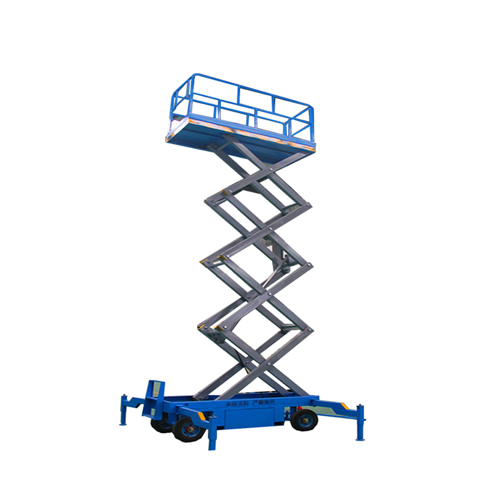 DC Battery Skyjack Scissor Lifting Platform