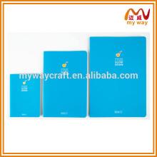 Bloco de alta qualidade com cores diferentes, caderno escolar personalizado