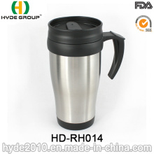 Hot Sale 14oz Stainless Steel Travel Mug with Handle