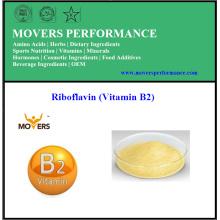 Hohe Qualität niedrigen Preis Lebensmittelqualität Riboflavin (Vitamin B2)