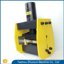 O projeto moderno utiliza ferramentas hidráulicas da fabricação do barramento do Cnc da máquina de processamento do cobre do escavador do furo