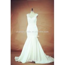 Elegante V-Ausschnitt Bördeln Braut Brautkleider Brautkleider für die Braut