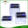 Sunnysam Новейший инновационный портативный водонепроницаемый складной надувной прозрачный ПВХ солнечный фонарь 10 светодиодных кемпинга