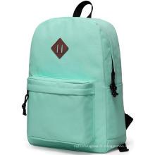 sac de mode sacs à dos d'école imperméables pour adolescents