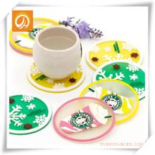 Starbucks transparentes Untersetzer- / Cup-Matte / Placemat für Förderung
