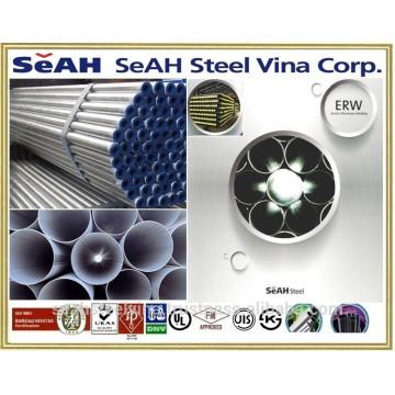 "SeAH steel pipe 1/2"" to 8-5/8"" to API, BS, JIS,KS, AS"