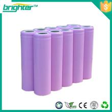 Bateria recarregável de lítio 3.7v 18650 para bicicleta elétrica