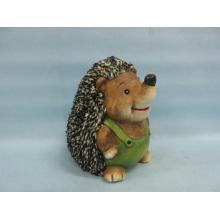 Hedgehog Forma Artesanato de cerâmica (LOE2537-C17.5)