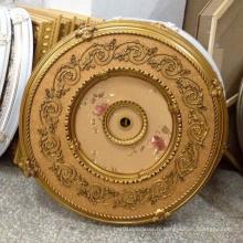 Round PS Matière décorative de médaillé de plafond Dl-1169-4