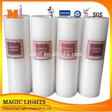 Largo tiempo de combustión y pilar Velas blancas perfumadas baratas
