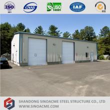 Casa de almacenamiento de marco de acero prefabricado