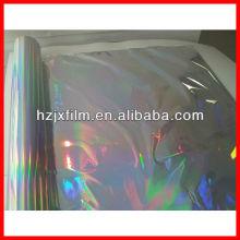 Regenbogen holographische nahtlose Film