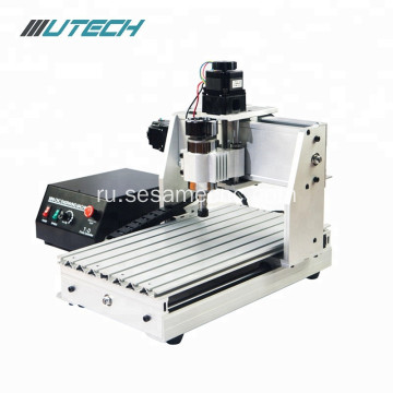 CNC Milling Machine 3040 4-axis for Woodworking